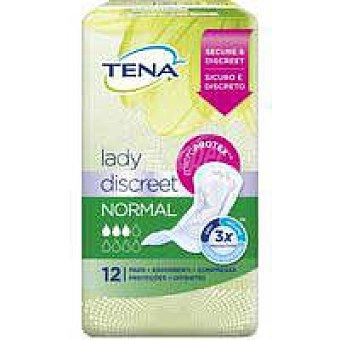 Tena Lady Compresa normal discreet incontinencia 12u 12u