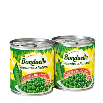 Bonduelle Fresh peas Pack de 2x140 g