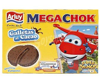 Arluy Galletas al cacao megachok 208 gr