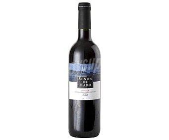SENDA DE HARO Vino Tinto Botella de 75 Centilitros