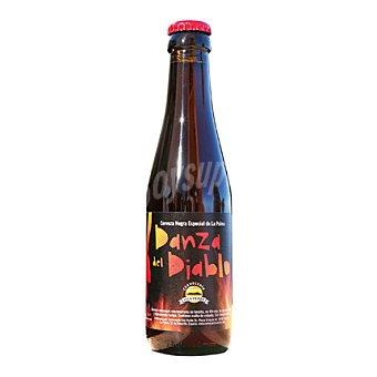 DANZA DEL DIABLO Cerveza negra especial de La Palma 33 cl