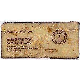 Navarro Turrón de nata con nueces tableta 300 g