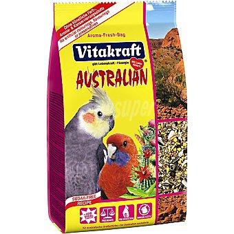 Vitakraft Alimento especial Australian para loros australianos para cotorras y ninfas Paquete 750 g