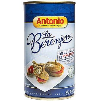 Antonio Berenjenas de Almagro rellenas de pimiento con aceite de oliva 100% natural Lata 170 g