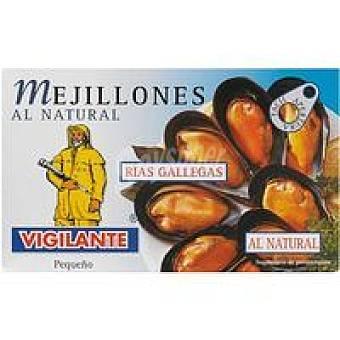 Vigilante Mejillones al natural Lata 115 g