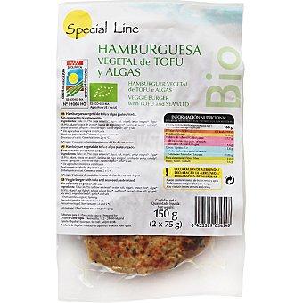 Special Line Hamburguesa vegetal de tofu y algas ecológica envase 150 g Envase 150 g