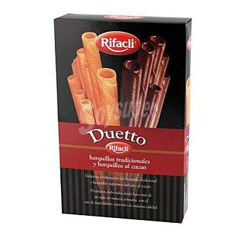 Rifacli Barquillos tradicionales y al cacao duetto 140 g
