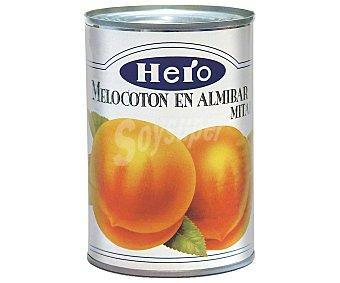 Hero Melocotón en almíbar en mitades Lata 240 g peso neto escurrido
