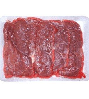 Espaldilla de añojo 1ª B filetes finos Bandeja de 500.0 g.