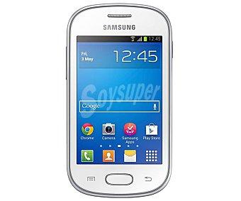 "SAMSUNG GALAXY FAME Smartphone libre Lite S6790, procesador: 850MHz, almacenamiento: 4GB Ampliable con Tarjetas microsd, Pantalla: 3.5"", Cámara: 3 Megapixel, nfc, Android 4.1,"