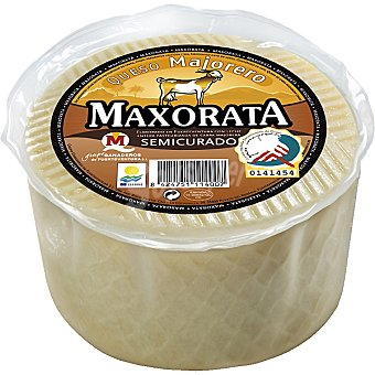 Maxorata Queso semicurado de cabra D.O. Majorero  Pieza 1,1 kg