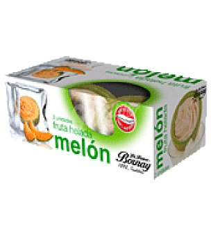 Bornay Desserts Helado melón crema Pack de 2x160 ml