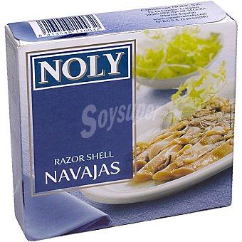 Noly Navajas al natural chilenas 5-7 piezas Lata 78 g neto escurrido