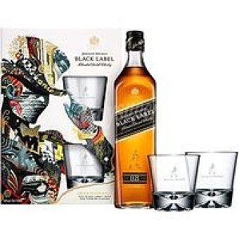 Johnnie Walker Whisky Etiqueta Negra botella 70 cl
