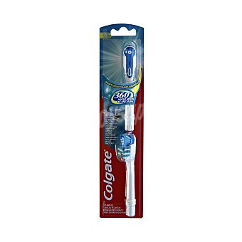 Colgate 360 Recambio Cepillo Batería 360º Whole Mouth Clean Suave 2 ud