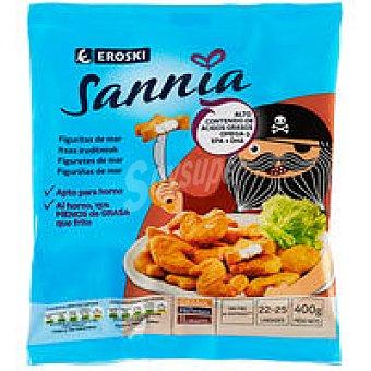 Eroski Sannia Figuritas de mar Bolsa 400 g