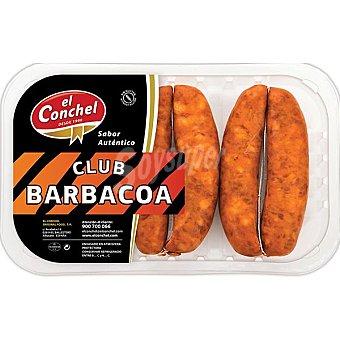 EL CONCHEL Chorizo aldeano para barbacoa Bandeja 400 g