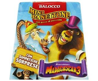 Balocco Mini Panettone con Chocolate Magadascar 100g