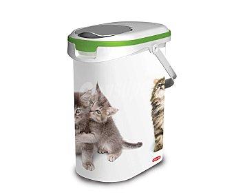 Curver Contenedor de alimento para gatos, capacidad 10,4 litros 1 unidad