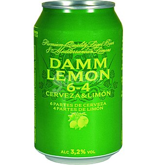 DAMM LEMON Cerveza Damm Lemon 6 unidades x 33 cl