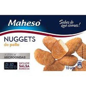 Maheso Nuggets de pollo Caja 350 g