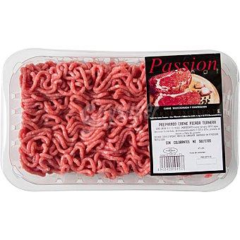 PASSION MEAT Ternera preparado de carne picada bandeja 400 g Bandeja 400 g