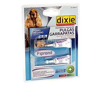 Dixie Pipetas insectífugas para perros medianos (10-20 kg) 1,34 mililitros