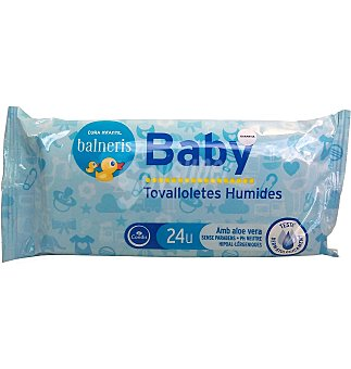 Balneris Toallitas baby 24 UN