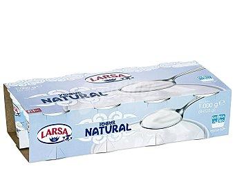 Larsa Yogur natural Pack 8 u x 125 g