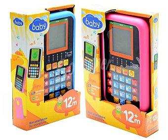 BABY Mi Primer Smartphone con protector y diferentes Actividades 1 Unidad