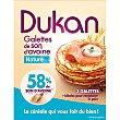 Tortitas de salvado de avena sabor natural 3 unidades Envase 210 g Dieta Dunkan