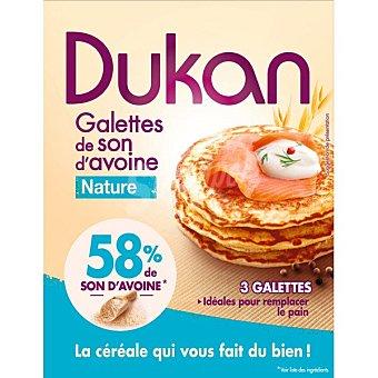 Dieta Dunkan Tortitas de salvado de avena sabor natural 3 unidades Envase 210 g
