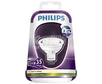 Philips Foco led dicroico 5 Watios, con casquillo GU5.3 y luz cálida 1 unidad