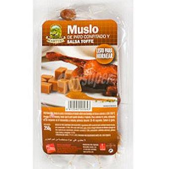 Martiko Muslo de pato confit en salsa toffe Bandeja 340 g
