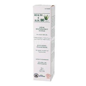 Health & Aloe Bio Crema reparadora antiedad con Aloe Vera 50 ml