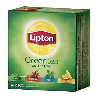 Lipton Infusiones de té verde 40 ud