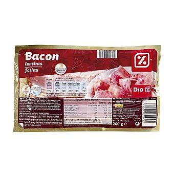DIA Bacon lonchas Sobre 200 gr