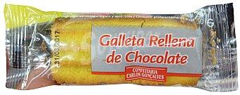CONFEITARIA Surtido granel galleta rellena de chocolate 1 unidad (20 g)
