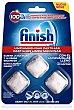 Limpiamáquinas de lavavajillas pastillas Blister 3 u Finish