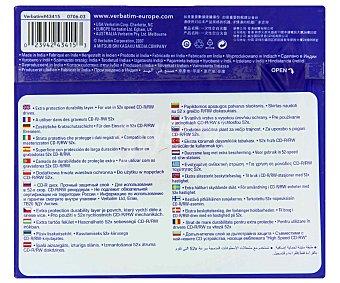 VERBATIM 10 CD R 10 unidades