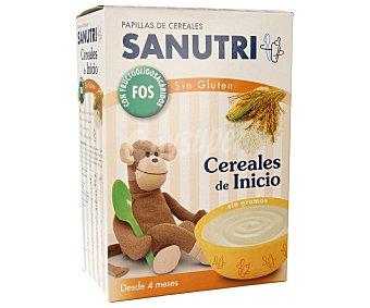 Sanutri Papilla sin Gluten Cereales de Inicio Efecto Bífidus 600 g