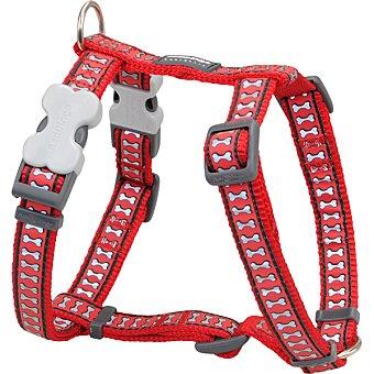 Petral para perro color rojo 15 mm 30-48 cm 1 unidad
