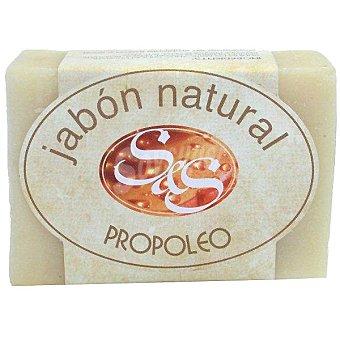 S&S Pastilla de jabón natural de Propóleo Pastilla 100 g