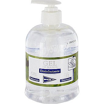 HIPERCOR gel de manos desinfectante dosificador 500 ml