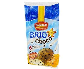Dulcesol Brioches con trozos de chocolate 240g