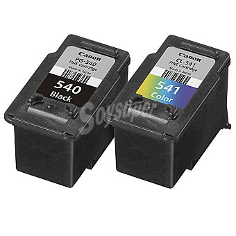 CANON PG-540 + CL-541 Cartucho de tinta multipack negro + tricolor