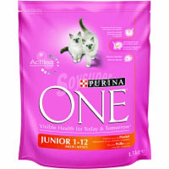 One Purina Gato junior Saco 1,5 kg