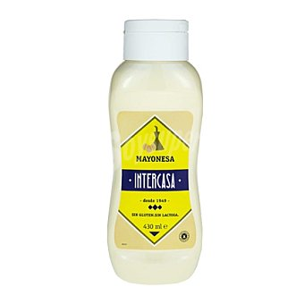 Intercasa Mayonesa sin gluten y sin lactosa 430 ml