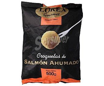 Lorea Gourmet Corquetas ultracongeladas de salmón ahumado 500 g
