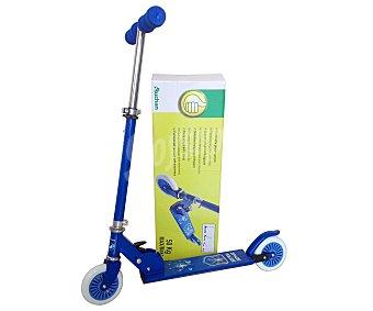 Productos Económicos Alcampo Patinete plegable, regulable en altura y fabricado en acero 1 Unidad